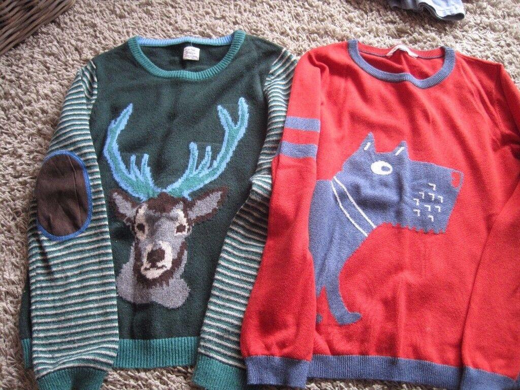 2 Boys jumpers - John Lewis and Boden. Age 12 and 11-12 years