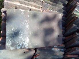 Reclaimed handmade peg roof tiles / eve tiles / valleys & bonnets