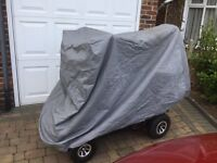 Motor cycle cover. Heavy duty, large