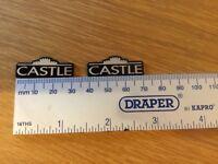 Castle Acoustics Speaker Badges