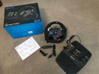 Logitech G29 Boxed in as New Condition for PS4, PC and PS3