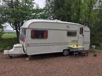 Vintage Classic Buccaneer 3/4 berth caravan