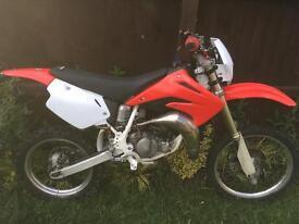 Honda cr 80 2002 road reg