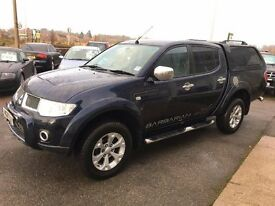 MITSUBISHI L200 2.5Di 4WD LB DOUBLE CAB BARBARIAN - FINANCE AVAILABLE