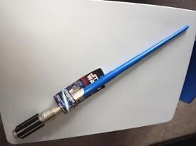 BRAND NEW Blue Star Wars Anakin Skywalker Light Saber (Ideal for Role Play/ Dress-up)