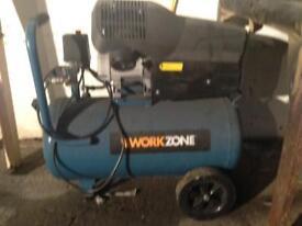 Compressor, air tools, body work tools