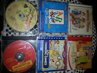 8 CD's with children's songs