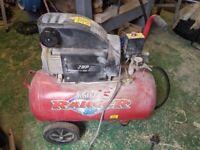 Clarke ranger air compressor and tools