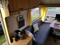 Elddis Whirlwind 2 berth caravan. Restored.