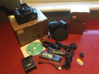 NIKON D610 Body, lenses and extras