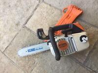 Stihl ms 200t popping saw 12""
