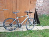 Trek Unisex Bicycle good condition alloy frame, 24 gears