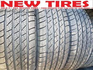 275/55 R 20 SALE !! $125 - NEW TIRES - ALL SEASON TIRES   -  Free Flat Repair*!!! - SALE !!