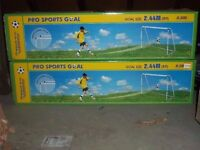 BNIB 8 x 6 ft Pro Sports Football Goals Set#RRP £120# SALE