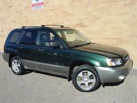 2004 Subaru Forester XS All Wheel Drive. Loaded! Automatic!