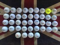 40x Titleist, Callaway, Srixon etc Golf Balls