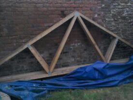 5 x roof trusses