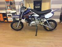 Small wheel pit bike 90cc auto