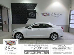 2015 CADILLAC ATS SEDAN AWD 2.0 TURBO AWD CUE