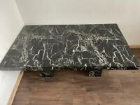 Shady marble table