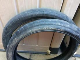 Odyssey hawk Bmx tyres