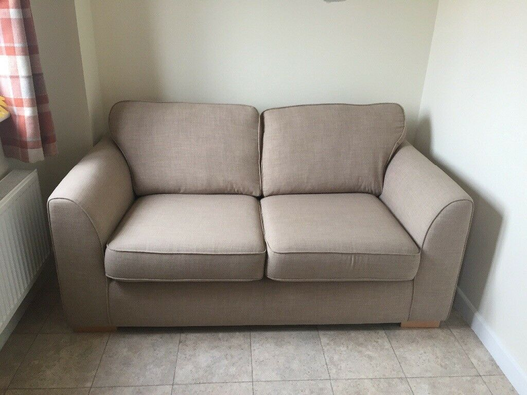 Dfs Revive 2 Seater Sofa Cream 2 Years Old Only Had