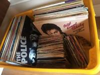 Selection of albums, 12 & 7 inch singles