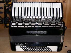 Guerrrini Oxford 3, 96 Bass, 4 Voice, Musette Tuned, Piano Accordion.