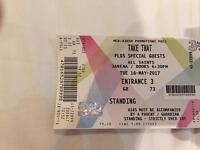 2 x Take That Tickets Dublin £150
