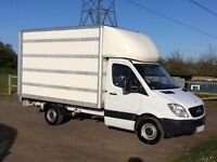 MERCEDES SPRINTER 313 CDI DIESEL 2011 11-REG LUTON WITH TAIL-LIFT *AIR CONDITIONING* LIKE NEW