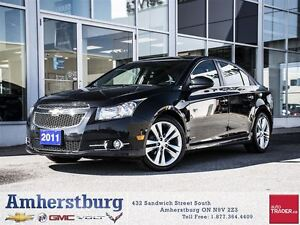 2011 Chevrolet Cruze RS - REMOTE START, POWER SUNROOF!