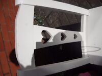 Next White Wooden Chair in good condition