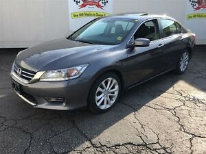 2013 Honda Accord Sedan Touring, Leather, Sunroof, Only 47,000km