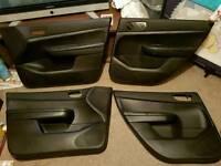 Peugeot 307 half leather interior