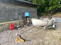 Bonwitco With 10ft dinghy, trailer, 2 engines, and extras! Ready to go!