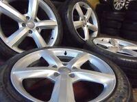 20inch Q7 genuine S LINE alloys wheel 5x130 porsche cayenne px welcome