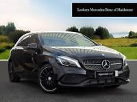Mercedes-Benz A Class A 200 AMG LINE PREMIUM (black) 2016-10-24