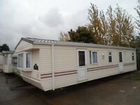 Good clean holiday home for sale either on site or off site