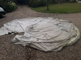 5m Bell Tent Canvas - Spares or repairs