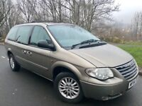 2004 54 CHRYSLER GRAND VOYAGER LX 2.8 CRD AUTOMATIC # 7 SEATER MPV# LEATHER