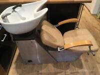 Hairdressers wash basin