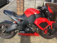 Buell 1125 CR v-twin streetfighter with XB Lightning tail