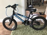 """Boys 16"""" bike Halfords """"Starfighter"""" suitable for 5-7 year old"""