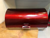 Ruby Red Nearly New Morphy Richards Kitchen Appliance Set
