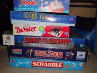 Various board games
