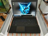 Medion erazer gaming laptop p6681 i5 7 generation 16gb ram 1tb +128gb SSD gtx 1050m 4gb graphics