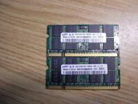 Samsung DDR2 2 x 2GB RAM 6400s
