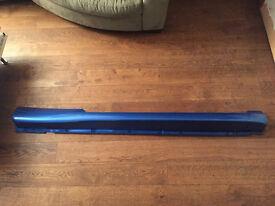 Vauxhall Corsa D VXR 2007 Arden Blue Drivers Side O/S Sideskirt