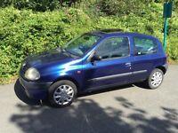 Renault Clio 1.2 , PAS , tax/mot , fsh