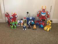 Large bundle of Rescue Bots